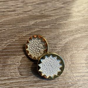 House of Harlow sunburst earrings